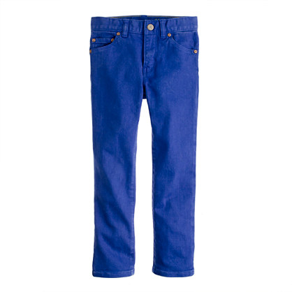 Boys' slim-fit garment-dyed jean