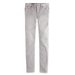 Midrise toothpick jean in grey