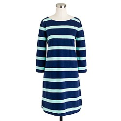 Stripe shirttail dress