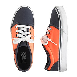 Kids' Vans® junior two-tone sneakers