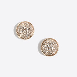 Factory fireball stud earrings