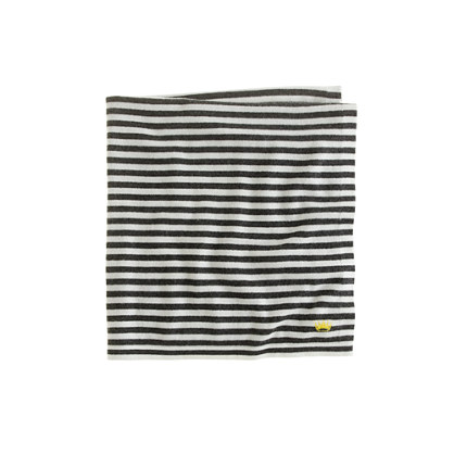 Collection baby cashmere stripe blanket