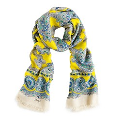 Drakes London® paisley scarf