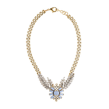 Lulu Frost for J.Crew winged glory necklace