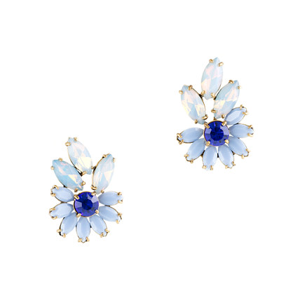 Lulu Frost for J.Crew navette burst earrings
