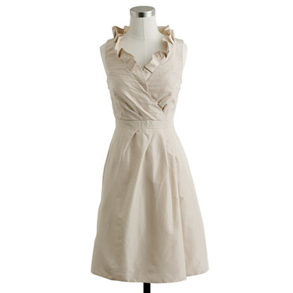 Blakely dress in silk taffeta