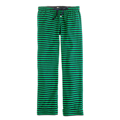 Flannel sleep pant in stripe