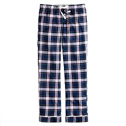 Flannel sleep pant in plaid