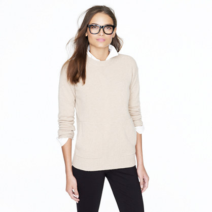 Collection cashmere pocket sweater