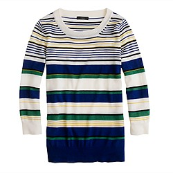 Tippi sweater in multistripe