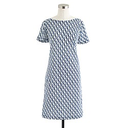 T-shirt dress in sea horse
