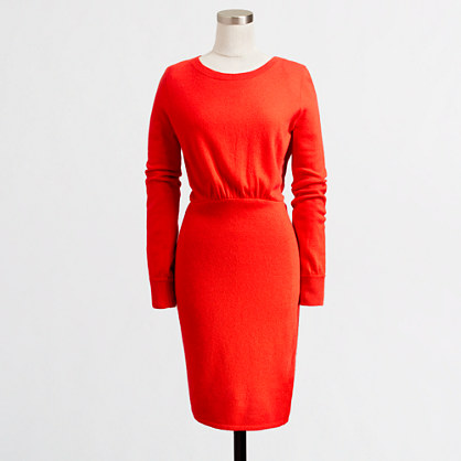 Factory warmspun sweater-dress