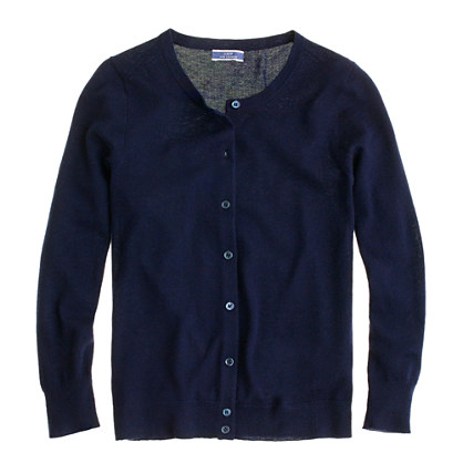 Collection featherweight cashmere cardigan