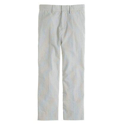 Boys' Ludlow pant in seersucker