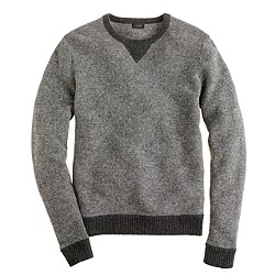 Lambswool sweatshirt