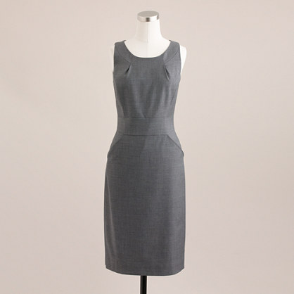 Tall Emmaleigh dress in Super 120s