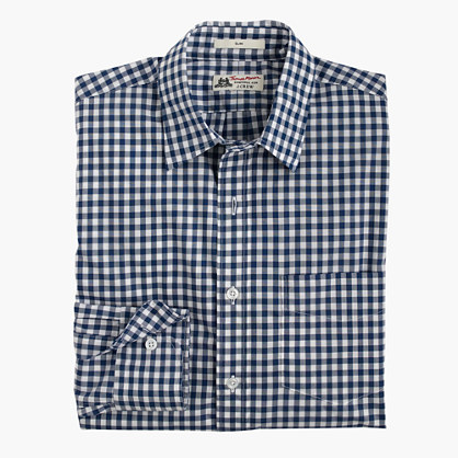 Slim Thomas Mason® for J.Crew shirt in bedford blue gingham