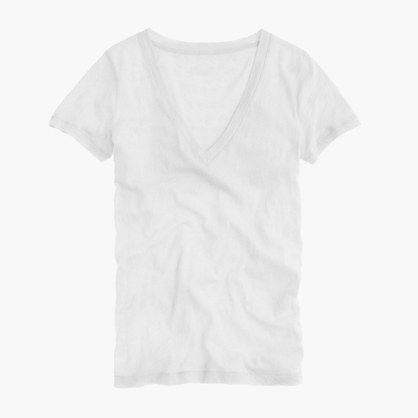 Vintage cotton V-neck tee