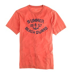 Summer guard graphic tee