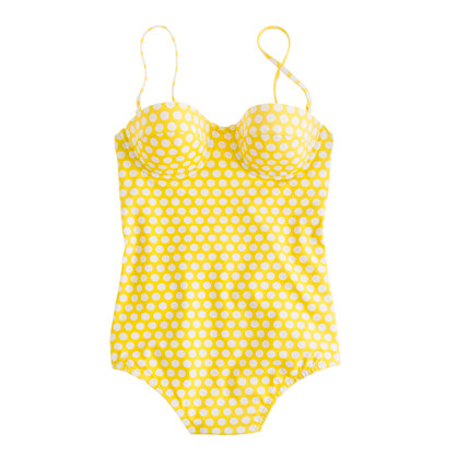 Graphic dot underwire tank