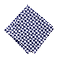 Classic gingham pocket square