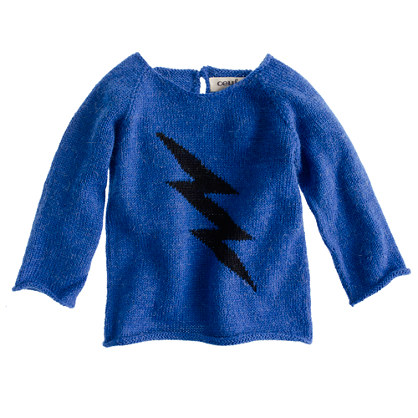 Oeuf® baby lightning sweater