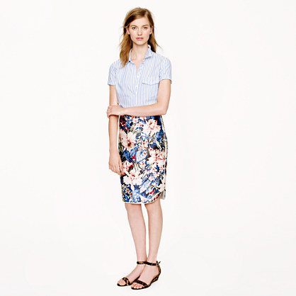 Collection mai tai floral skirt
