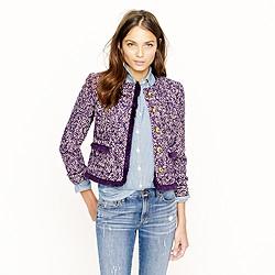 Lady jacket in corkscrew tweed