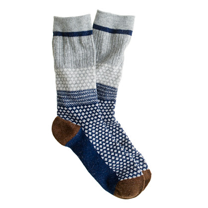 Anonymous Ism jacquard socks