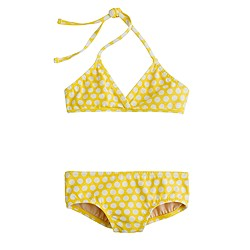 Girls' bikini set in graphic dot