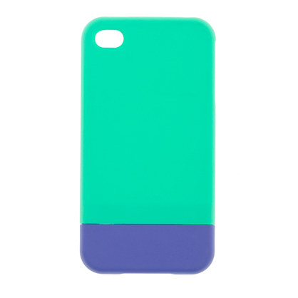 Colorblock iPhone 4 case
