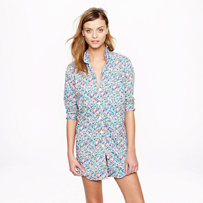 Liberty nightshirt in Claire Aude floral