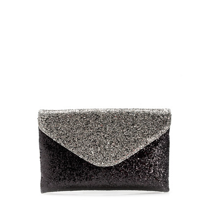 Invitation clutch in glitter