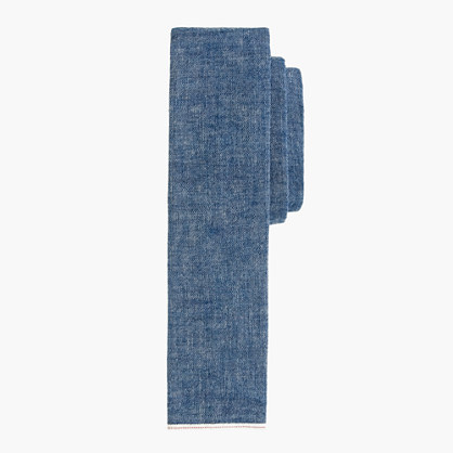 The Hill-side® chambray tie