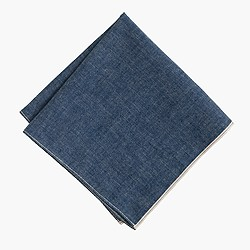 The Hill-side® selvedge pocket square