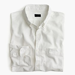 Slim Vintage oxford shirt in solid