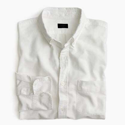 Vintage oxford shirt in solid