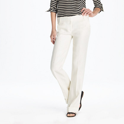 Fashion question: off-white linen pants | GBCN