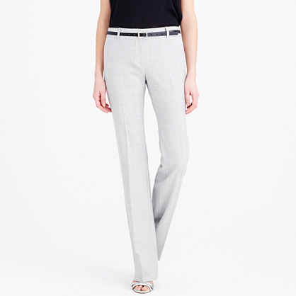 Tall 1035 trouser in Super 120s
