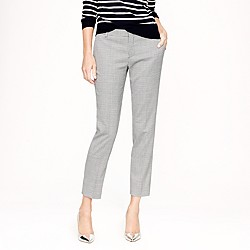 Collection women's Ludlow trouser in houndstooth Italian wool