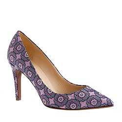 Everly printed pumps