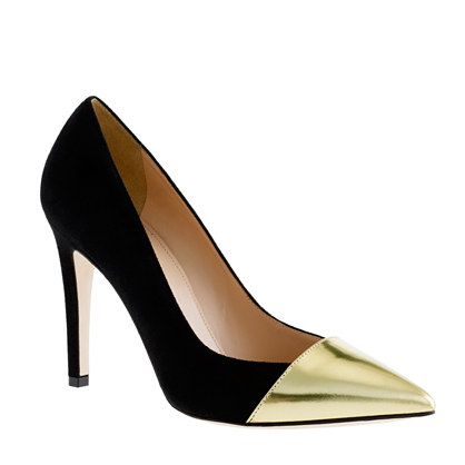 Sasha suede pumps