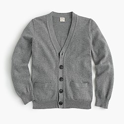 Boys' cotton-cashmere cardigan