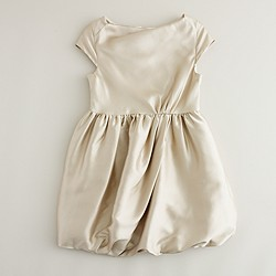 Girls' silk Demeter dress