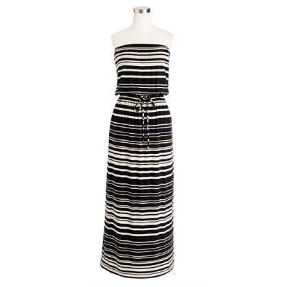 Amie maxidress in stripe