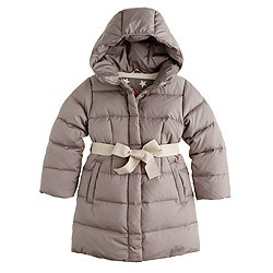 Girls' long powder puffer