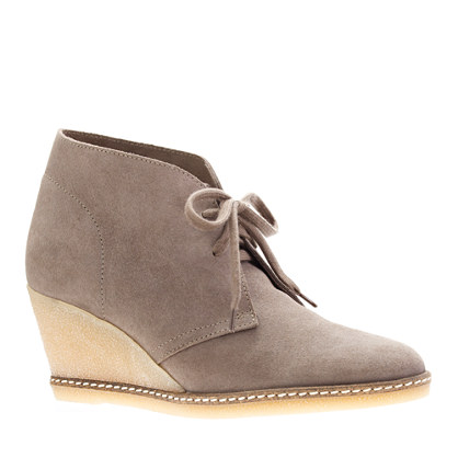 MacAlister wedge boots from jcrew.com