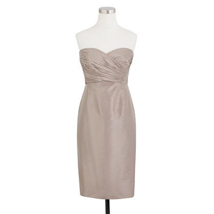 Kristin dress in silk taffeta