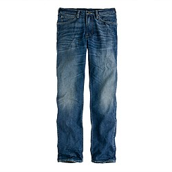 Lee® for J.Crew 101 Slim Rider in saddle worn wash