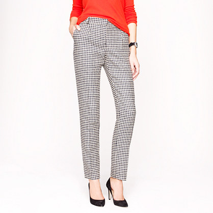 Collection wool houndstooth pant